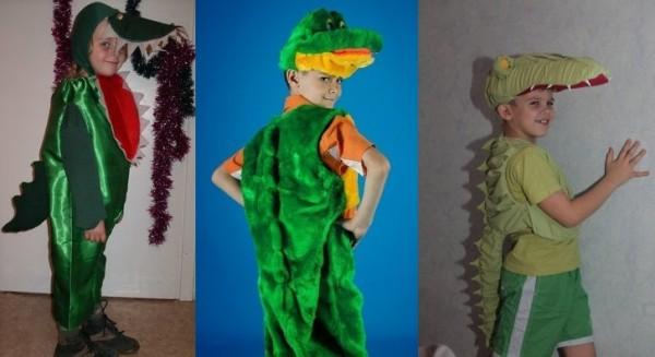 новогодний костюм на карнавал Крокодил