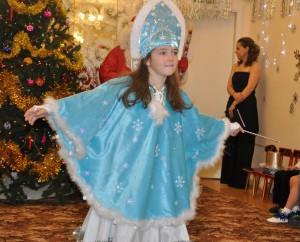накидка на плечи для костюма снегурки