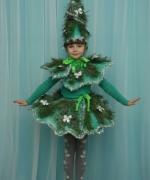 новогодний костюм елка для девочки