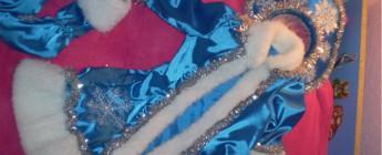 новогодний костюм снегурочки для девочки на утренник