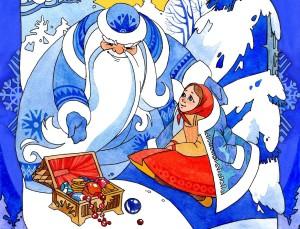 интересный сценарий новогодней сказки морозко