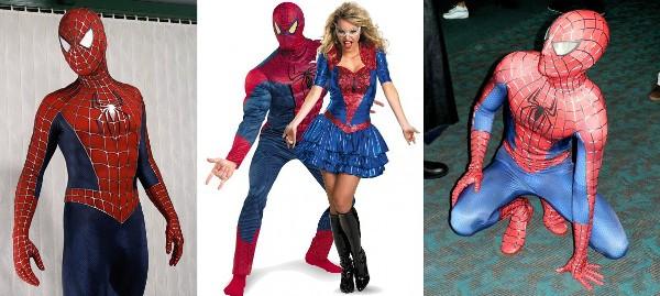 костюм Человека-паука на Новый год