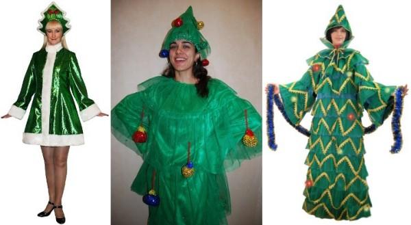 костюм Елка на новый год взрослым