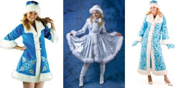 Снегурочка - наряд на новый год для взрослых