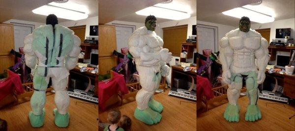 костюм Халка для взрослого на Новый год