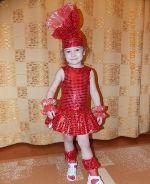 новогодний костюм конфетки для девочки