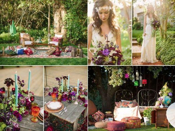 предметы используемые на богемной свадьбе