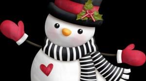 элемент костюма снеговика шарфик