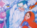 сценарий новогодней сказки морозко для детского сада