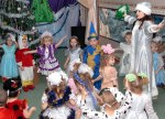 сценарий новогоднего утренника в средней группе детского сада
