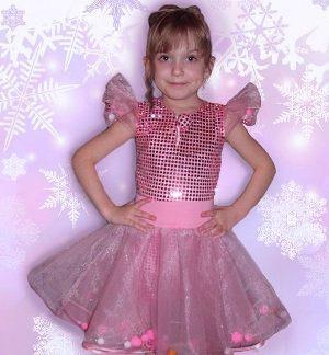 делаем дочке костюм бусинки на Новый год