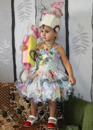карамель для создания костюма конфетки