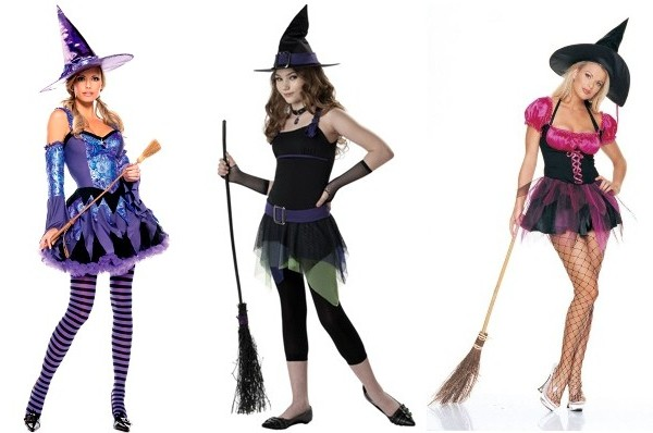 новогодний наряд Ведьмочка для женщин