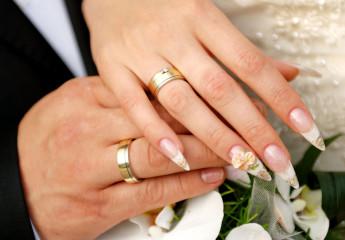 на какой руке супруги носят обручальное кольцо