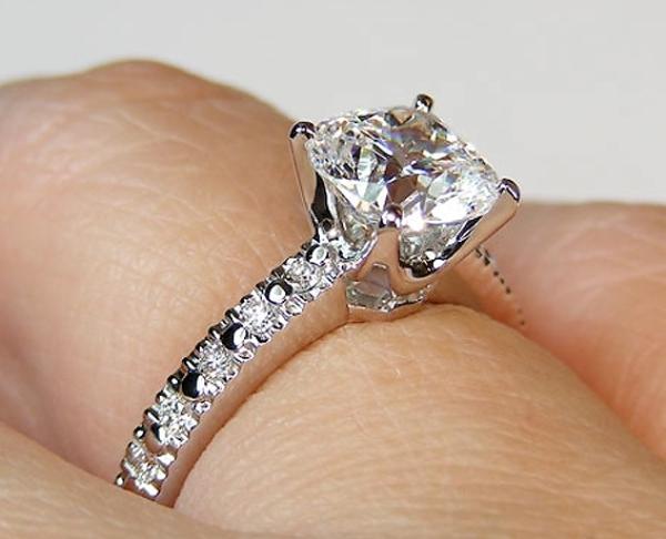 обручальное кольцо из линейки Novo от Тиффани
