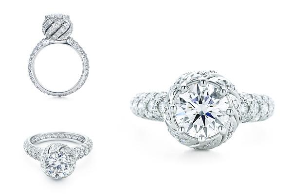 обручальное кольцо Bud Ring от Тиффани