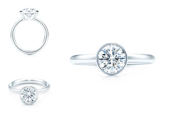 обручальное кольцо Bezet Round от Тиффани