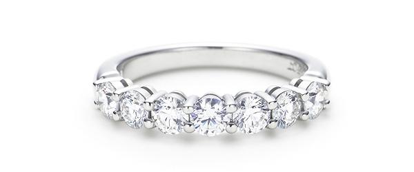 Классическое обручальное кольцо от Тиффани