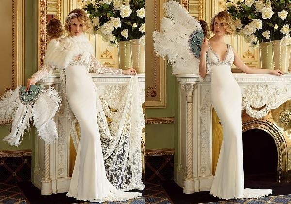платье невесты на свадьбе в стиле винтаж