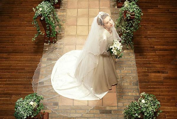 платье невесты на венчание