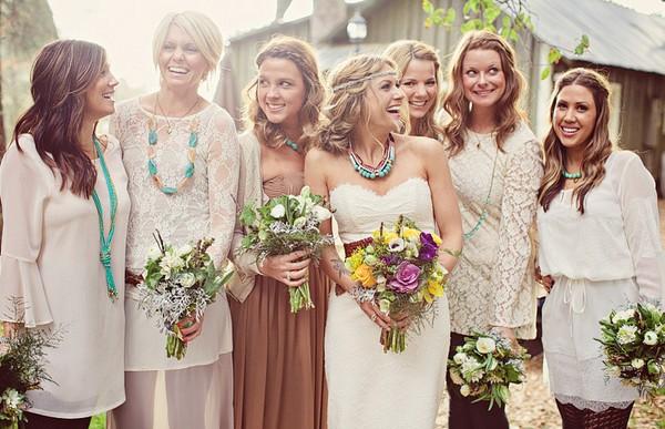 наряд для гостей на винтажную свадьбу
