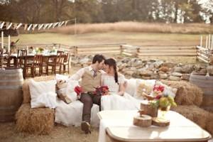 свадьба в стиле рустик и ее особенности