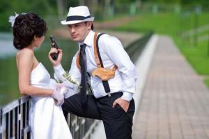 гуляем на свадьбе в стиле чикаго