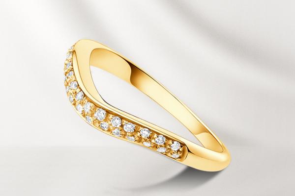Булагри обручальное кольцо с бриллиантовым паве