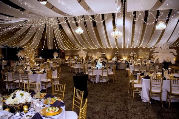оформление свадебного мероприятия в стиле Гэтсби