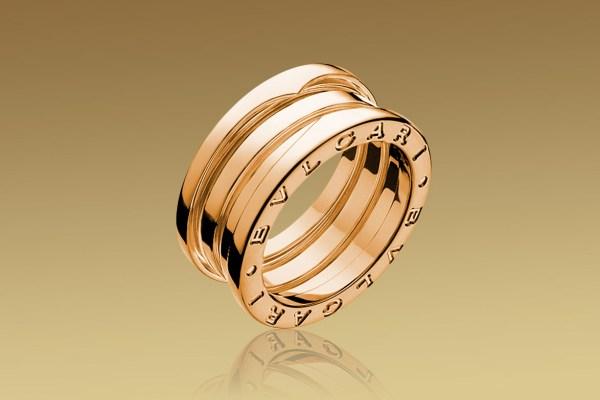 обручальное кольцо Булгари Zero-1