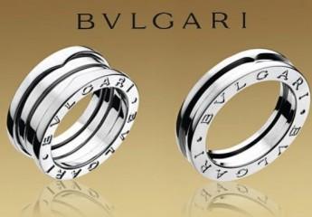 обручальные кольца Булгари для молодоженов