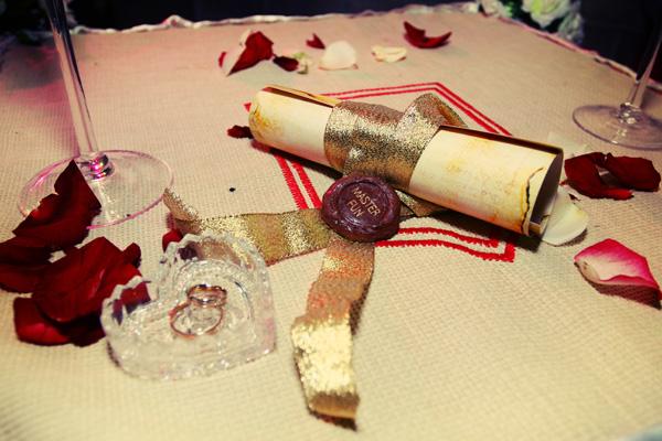 свадьба в стиле рыцарей