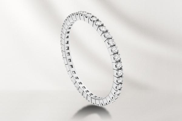 обручальное кольцо Булгари Eternity band