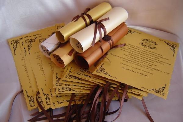 текст для пригласительных на свадьбу в стиле богов Олимпа