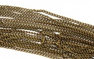 бронзовые ниточки для плетения косичек