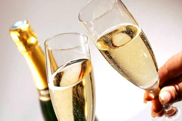 шампанское на берилловую свадьбу