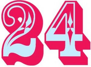 значении числа 24 - годовщины свадьбы