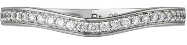 обручальное кольцо Балерина от Картье