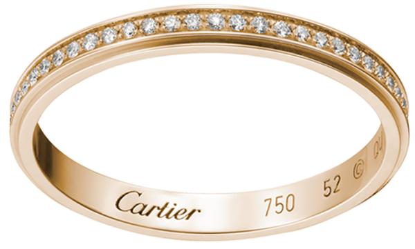 эксклюзивное обручальное кольцо Картье