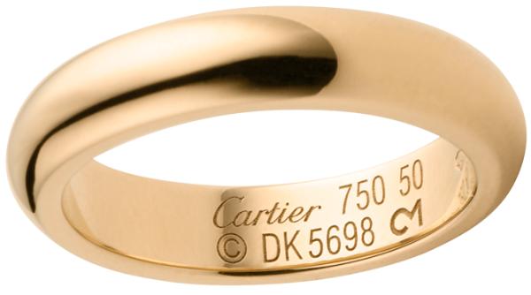 классические обручальные кольца Картье