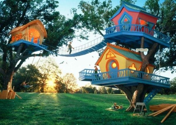 подарить девочке собственный дом на дереве