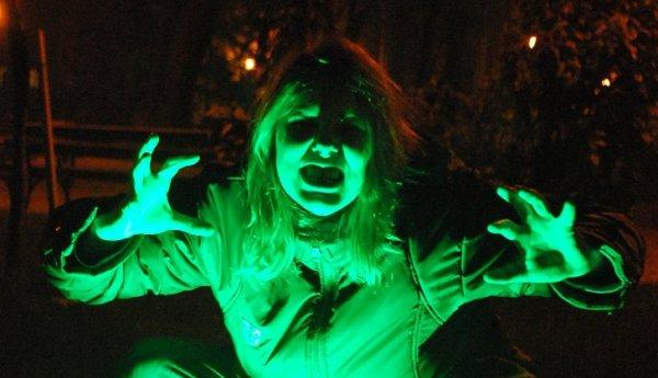 комната страха на хэллоуин