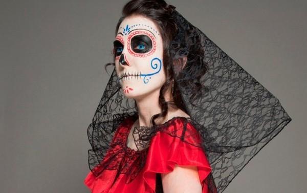 Sugar Skull на хэллоуин