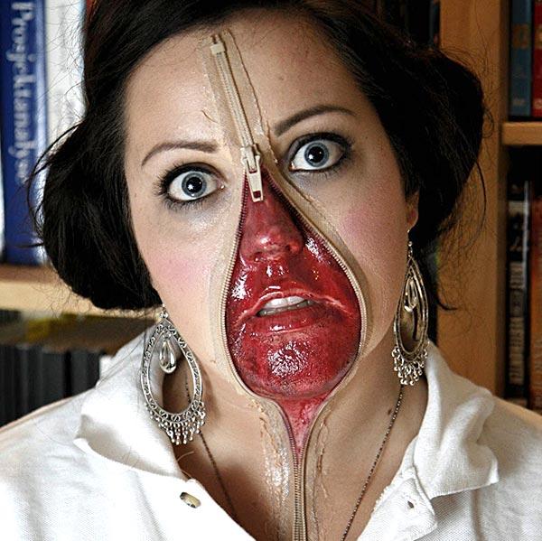 популярный макияж на 31 октября
