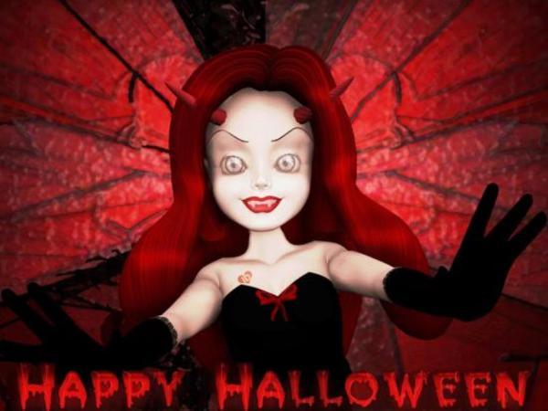 конкурс для девочек на хэллоуин