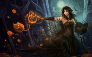 лучшая ведьма на День всех святых