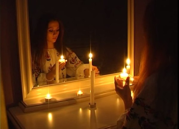 гадания с зеркалом на 31 октября