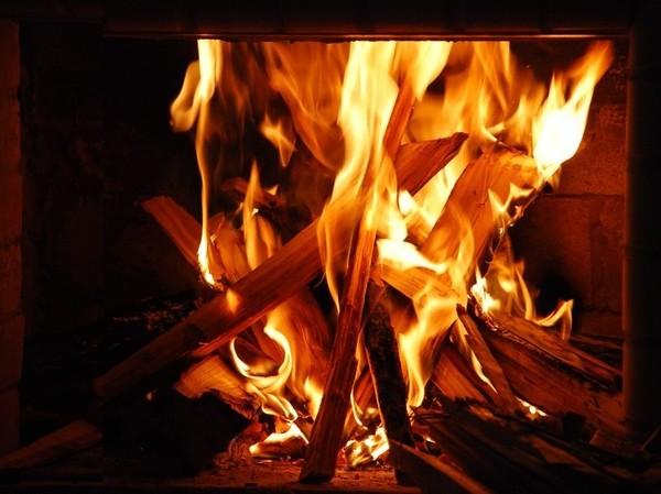 огонь для гаданий на хэллоуин