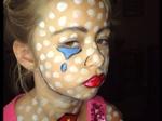 какой сделать макияж на хэллоуин в школу